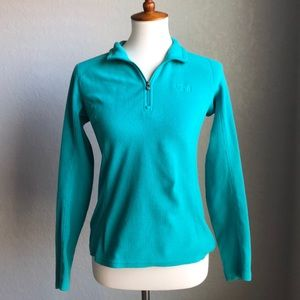 The North Face Turquoise Pullover Jacket